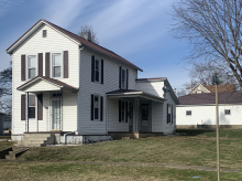 Charming and spacious 2 BR, 1 Bath home on corner lot with 2 car detached garage! Call Jeremy (740) 988-8258!